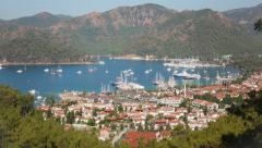 4k Time Lapse Gocek Stock Footage
