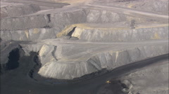 AERIAL United States-Wyodak Mine Stock Footage