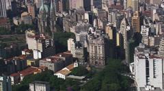 AERIAL Brazil-Pateo Do Collegio Stock Footage