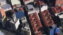AERIAL Brazil-Mosteiro De Sa~O Bento Stock Footage