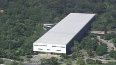 AERIAL Brazil-Congonhas Airport Stock Footage
