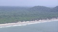 AERIAL Brazil-Revealing Fortalezza Nossa Dos Prazeres Stock Footage