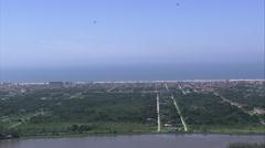 AERIAL Brazil-Iguape Stock Footage