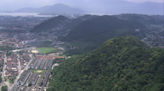 AERIAL Brazil-Erasmus Sugarcane Mill - stock footage