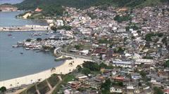 AERIAL Brazil-Angra Dos Reis Stock Footage