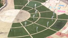 AERIAL Brazil-Parque Dos Atletas Stock Footage