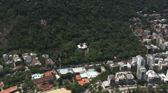 AERIAL Brazil-Rio De Janeiro Botanical Garden Stock Footage