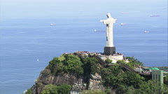 AERIAL Brazil-Rio De Janeiro - South Stock Footage