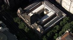 AERIAL Brazil-Santa Casa De Misericordia - stock footage