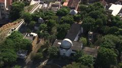AERIAL Brazil-Parque Campo De Santana - stock footage