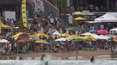 AERIAL Brazil-Praia De Geriba Stock Footage