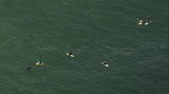 AERIAL Brazil-Itacoatiara Beach Stock Footage