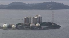 AERIAL Brazil-Paqueta Island Stock Footage