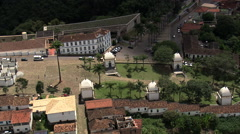 AERIAL Brazil-The Pilgrimage - stock footage