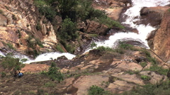 AERIAL Brazil-Cachoeira Chica Dona Stock Footage