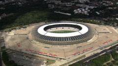 Mineirao Stadium Stock Footage