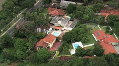 AERIAL Brazil-Lake Pampulha Stock Footage