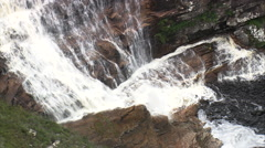 AERIAL Brazil-Cachoeira Da Capivara Stock Footage