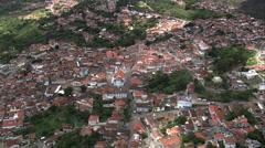 AERIAL Brazil-Casa De Juscelino Stock Footage