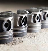 piston motor vehicle - stock photo