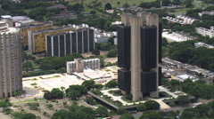 AERIAL Brazil-Central Bank Of Brazil Stock Footage