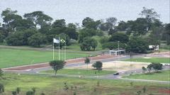 AERIAL Brazil-Vila Planalto Stock Footage