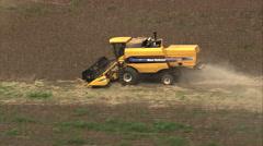 AERIAL Brazil-Harvesting Stock Footage