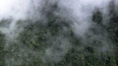 AERIAL Brazil-Itatiaia National Park Southern Edge Stock Footage