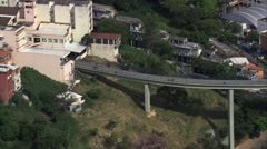 AERIAL Brazil-Walkway To Basilica Stock Footage