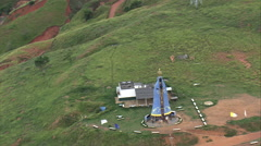 AERIAL Brazil-Our Lady Of Aparecida Stock Footage