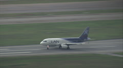 AERIAL Brazil-Guarulhos International Airport Stock Footage