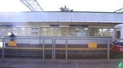 Translink Skytrain - Vancouver Stock Footage
