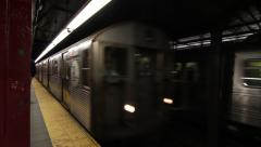 Penn Station Subway - stock footage