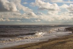 Southwold Beach, Suffolk, England - stock photo