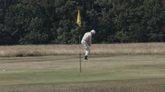 Golf Swing - Super Slow Motion, High Frame Rate 150fps 4 Stock Footage