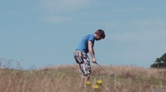 Golf Swing - Super Slow Motion, High Frame Rate 150fps 5 Stock Footage