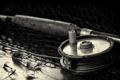 Fishing Tribute - stock photo