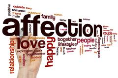 Stock Photo of Affection word cloud