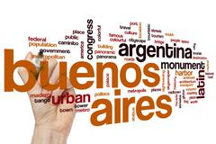 Stock Photo of Buenos Aires word cloud