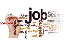 job search seeking employment concept background - stock photo