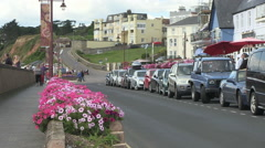 Seaton in Devon Stock Footage