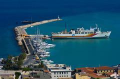 The city Zakynthos. - stock photo