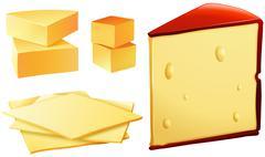 Cheese Stock Illustration