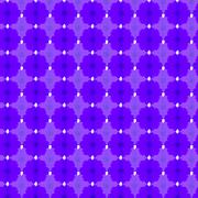 Violet cosmos seamless pattern background Stock Illustration