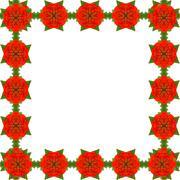Zinnia flower isolated on white background - stock illustration