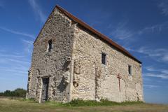 St Peter's-on-the-Wall Chapel, Bradwell-on-Sea, Essex, England Kuvituskuvat