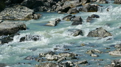 mountain river - stock footage