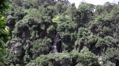 Thomson's Falls waterfalls, Kenya, Africa, medium shot Stock Footage