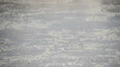 Stock Video Footage of gas bubbles from volcanic crater.