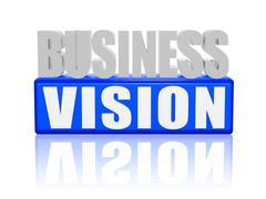 Business vision Stock Illustration